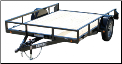 Lamar Single Axle Channel Frame Trailer - Starting at $2,660*