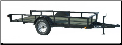 Lamar Single Axle Angle Frame Trailer - Starting at $2,190*