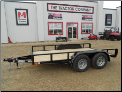 Lamar 12' Tandem Axle Classic Utility Trailer - Starting at $2,500*