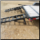 Optional Stand-up Ramp w/ Spring Assist - $100
