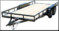 Lamar 16' Tandem Axle Classic Utility Trailer - Starting at $3,400*