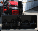 Mahindra Front Mount Snow Blower - 56""