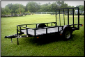 Lamar Trailer 10' Utility Trailer Single Axle