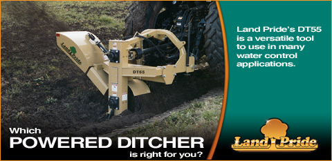 Powered Ditcher