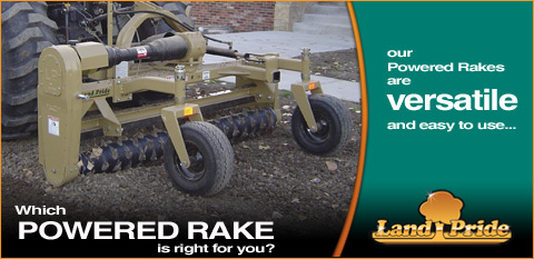 Powered Rake