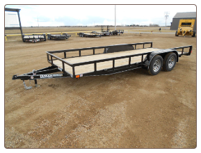 Lamar 18' Tandem Axle Classic Utility Trailer - Starting at $2,995*