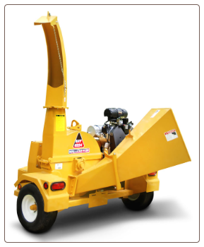 "4"" Chipper- With power unit 13hp - BXT 4213"