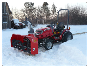Talon Front Mount Snow Blower 60""