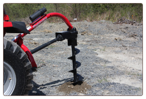 Mahindra Post Hold Digger